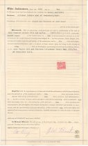 Image of 1031.005 - Property deed between J.W. Best and Claude Northern in Snoqualmie, May 16, 1921.