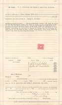 Image of 1031.006 - Property deed between S.R. and Leila S. Archibald and Claude Northern in Snoqualmie, June 9, 1921.