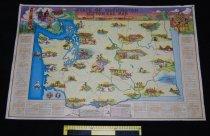 Image of 030.155. State Of Washington Historical Map, 1947 (3)