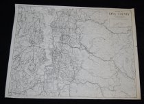 Image of 030.157.a. King County Highway Map, Rev 1957 (1)