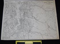 Image of 030.157.a. King County Highway Map, Rev 1957 (2)