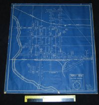 Image of 075.386. Blueprint Of North Bend, 1938 (2)