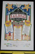 Image of 956.003. Snoqualmie Railroad Days Poster, 2011 (2)