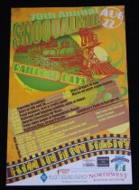 Image of 956.001 - 70th Snoqualmie Railroad Days poster.