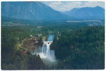 Image of 558.008. Snoqualmie Falls And Snoqualmie Valley.1
