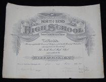 Image of 003.039. Nbhs Diploma For Ted Boalch- 1916 (1)
