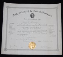 Image of 050.092 - Life Diploma  Public Schools of the State of Washington