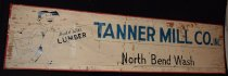 Image of 1069.007 - Tanner Mill sign from when Nobach family ran the mill.