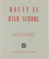 Image of 30.0228 Mshs Dedication Program November 17,1957 .1