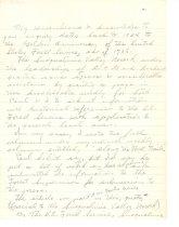 Image of 39-99-b, Letter From Hans Hamsmeier To Mrs. Paul Pieper Re Lundin Peak