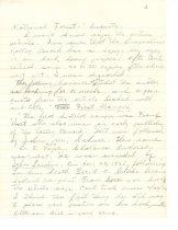 Image of 39-99-c, Letter From Hans Hamsmeier To Mrs. Paul Pieper Re Lundin Peak