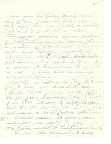 Image of 39-99-d, Letter From Hans Hamsmeier To Mrs. Paul Pieper Re Lundin Peak