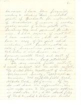 Image of 39-99-e, Letter From Hans Hamsmeier To Mrs. Paul Pieper Re Lundin Peak