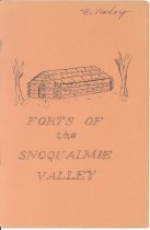 Image of 40-3101, Forts Of Snoqualmie Valley, Cover