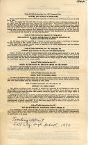 Image of 17-181-a, Marguerite Wilkie, Fshs Teacher's Contract, 1939, Back