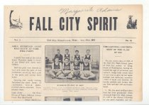 """Image of 179.006 - School Newspaper 2 sheets 11.5"""" X 15""""  FALL CITY SPIRIT Vol 2 Fall City, King County, Wash., May 27, 1921  No. 10  Page 1 has a picture of the basketball team--Runners Up,, and a picture of the """"SPIRIT"""" Staff. Also the last Will and Testament of the Class of 1921, besides other articles.  Page 2 has the editorial page,, listing the Editor-in-chief and the rest of the staff. Some news items, and ads of local businesses.  Page 3. There is a report of the grade track and field meet, a picnic at Lake Sammamish, County track and field meet, Girls track and field meet, and an article about the eighth grade state examinations. Also more ads for local businesses."""