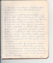 Image of 033.507 - Snoqualmie Valley Music Club minutes book and letter.