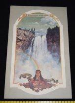 Image of 015.452. Snoqualmie Falls Lodge Menu (2)