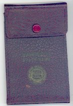 Image of 033.505 - Snoqualmie Valley Music Club checkbook and bank book.