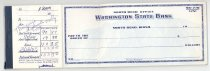 Image of 33-505-a, Snoqualmie Valley Music Club, Lamar Gaines, Checkbook