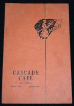 Image of 432.002. Cascade Cafe Menu, 1945 (1)