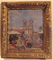 """Image of Painting, """"Spanish Steps"""""""