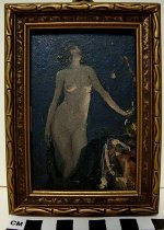 Image of Female nude, standing (miniature)