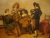 "Image of ""The Musicians"" (detail)"