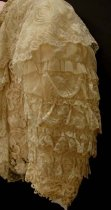 Image of Lace bed jacket (detail)