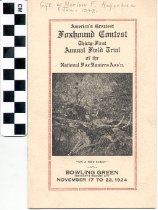 Image of National Fox Hunters Association brochure