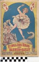 Image of Ringling Bros. and Barnum & Bailey circus program