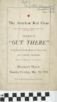 "Image of ""Out There"" play program, 1918"