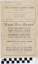 "Image of ""Band Box Revue"" program"