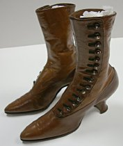 Image of Ladies' high top shoes