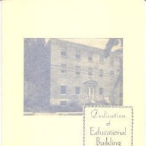 Image of Dedication of Educational Building program