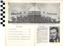 Image of First Baptist Church handbill