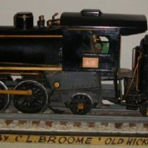 Image of 1961.4.1 - Model of the No. 250 passenger engine & coal tender, L&N Railroad