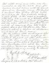 Image of SC 333 Yandell Letter p. 2