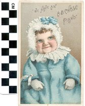 Image of A. B. Chase piano trade card