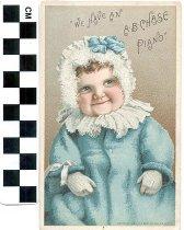 Image of A. B. Chase piano trade card