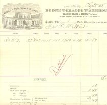 Image of Ward invoice