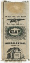 Image of 1983.43.312 - Henry Clay Festival Association commemorative ribbon