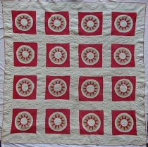 Image of 1985.32.1 - Star quilt