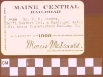 Image of Maine Central Railroad