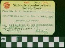 Image of St. Louis Southwestern Railway Lines - St. Louis Southwestern Railway Lines