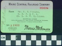 Image of Maine Central Railroad Company
