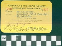 Image of Kanawha & Michigan Railway - Kanawha & West Virginia Railroad