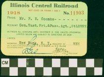 Image of Illinois Central Railroad - Illinois Central Railroad