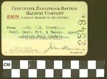 Image of Cincinnati, Hamilton & Dayton Railway Company