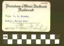 Image of Brandon & West Rutland Railroad - Brandon& West Rutland Railroad
